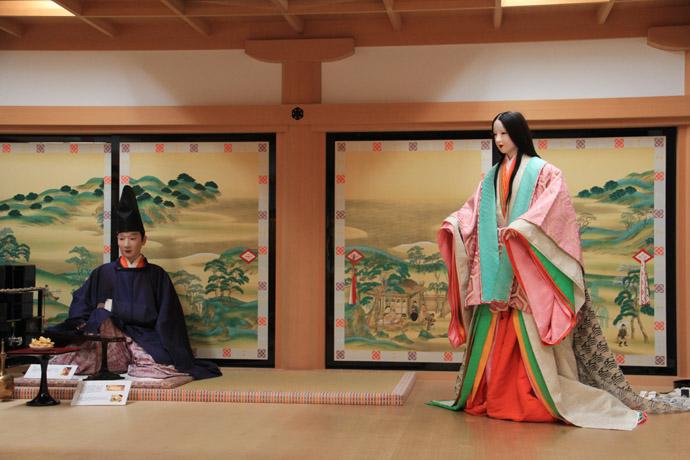 風俗博物館 2 平安の遊びと竹取...